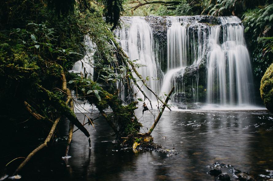 Novozélandská oblast Catlins plná pralesů a vodopádů