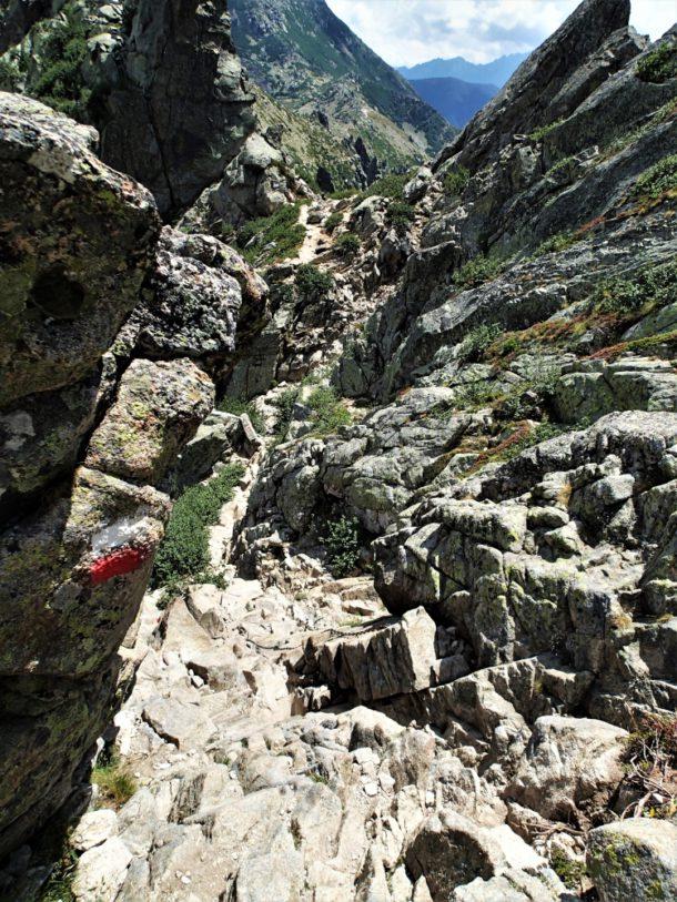 korsika gr 20 hory