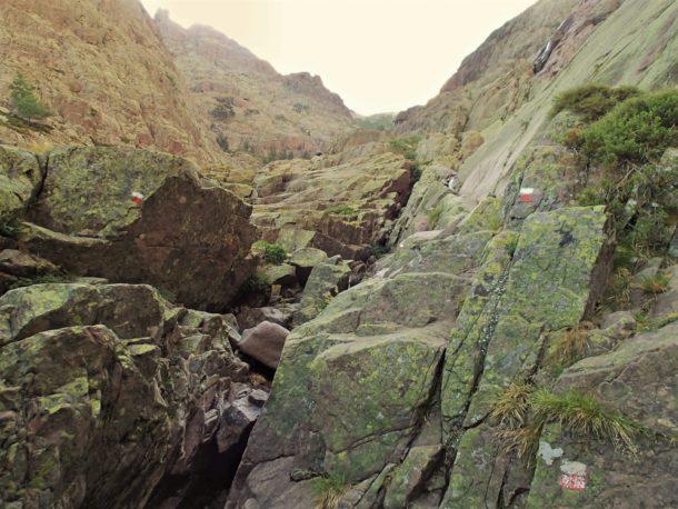 korsika gr 20 značka hory